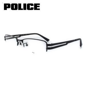 ポリス POLICE メガネフレーム VPL422J 530 53サイズ ブラック 眼鏡 めがね 度付き可 メンズ|squacy