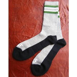 Abercrombie&Fitch アバクロンビー&フィッチ アバクロ アンダーウエア ソックス 靴下 メンズ ボーダー プレゼント おすすめ グレー ライン スポーツ|squeezecoconuts