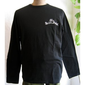 BARNS バーンズ Tシャツ アウトフィッターズ チェーンステッチ メンズ アメカジ 長袖 ロンT|squeezecoconuts