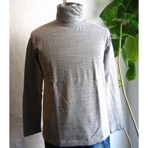 新商品 BARNS バーンズ タートル Tシャツ モックネック 吊り編み Loop Wheel メンズ 無地 1日にできる量が限られた|squeezecoconuts