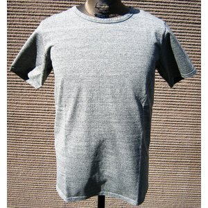 BARNS バーンズ 半袖 Tシャツ クルーネック メンズ 究極の杢グレー プレミアム ヘザーグレー 無地T 無地|squeezecoconuts