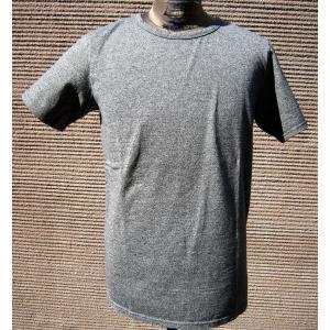 BARNS バーンズ 半袖 Tシャツ クルーネック メンズ 究極の杢グレー プレミアム ヘザーグレー ブラック 無地T 無地|squeezecoconuts