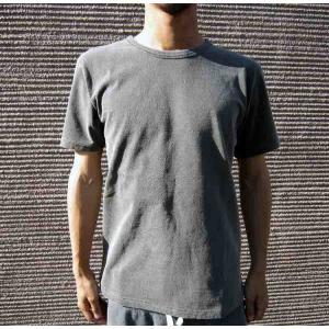 BARNS バーンズ Tシャツ 無地 メンズ スクィーズココナッツ コラボ  BARNS OUTFITTERS バーンズアウトフィッターズ ピグメント ウォッシュ加工|squeezecoconuts