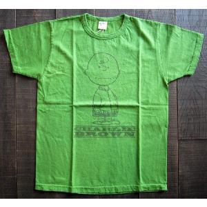 BUZZRICKSON /Tシャツ/メンズ/チャーリーブラウン/スヌーピー/バズリクソン|squeezecoconuts