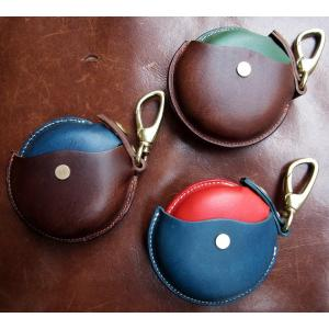 クランプ cramp コインケース 小銭入れ 財布 キーホルダー イタリアンレザー Italy Leather Brass 回転式 日本製 小物 雑貨 カウハイド 牛革 squeezecoconuts