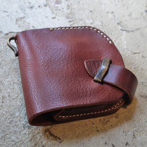 Haru/二つ折り財布/メンズ/レディース/サイフ/レザー財布/サイフ/crump/日本製 squeezecoconuts