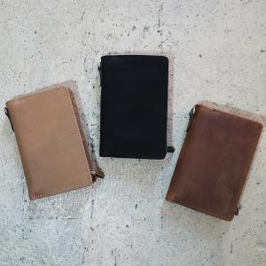 ヌバックレザー 財布 レディース メンズ 二つ折り 財布 カード入れ ブランド ミドルウォレット 革小物  ヌバックレザー squeezecoconuts