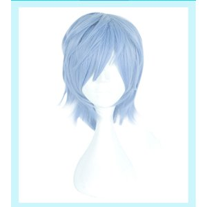 【COSPLAY WIG】A3! (エースリー)夏組 斑鳩三角      コスプレウイッグ 高温耐熱 コスチューム ネット付き|srs-h