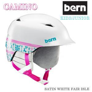 ヘルメット スノーボード キッズ bern バーン キッズ ヘルメット スノーボード ジュニア 子供...