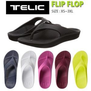 サンダル リカバリーサンダル TELIC テリック FLIP FLOP フリップフロップ  メンズ ...
