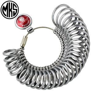 全国送料無料 明工舎 MKS 指輪ゲージ リングゲージ 40610 サイズ1号〜30号|sry30