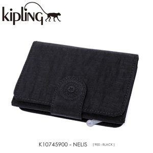 Kipling【キプリング】/BASIC/ K10745900 『NELIS』(BLACK) 三つ折り財布 ss-k-mart