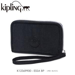 Kipling【キプリング】/BASIC PLUS/ K12369900 『ESSA BP』(BLACK) ラウンドファスナー財布 ss-k-mart