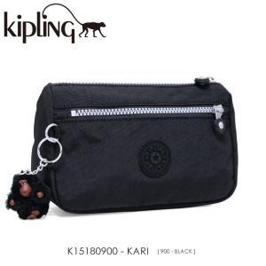 Kipling【キプリング】/BASIC/ K15180900 『KARI』(BLACK) ポーチ|ss-k-mart