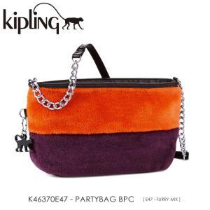 キプリング Kipling/KIPLING CELEBRATES/ K46370E47 『PARTYBAG BPC』(FURRY MIX) ショルダーバッグ ss-k-mart