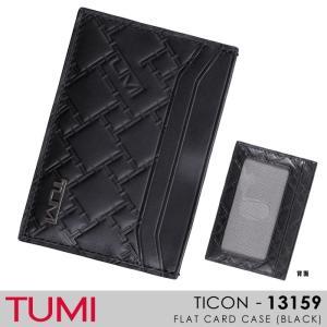 TUMI【トゥミ】/TICON/ 013159(BLACK)『FLAT CARD CASE』 レザーカードケース ss-k-mart