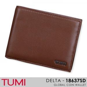 トゥミ TUMI/DELTA/ 018637SD『GLOBAL COIN WALLET』 レザー二つ折り財布|ss-k-mart