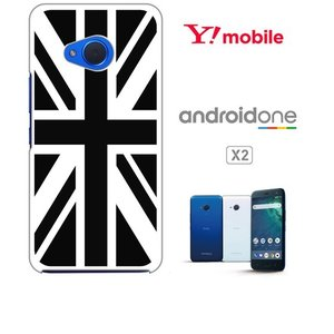 Android One X2/HTC U11 life アンドロイドワン ホワイトハードケース ジャケット 国旗A-02|ss-link