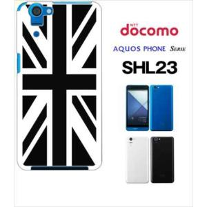 SHL23 AQUOS PHONE SERIE au ハードケース ジャケット 国旗A-02|ss-link