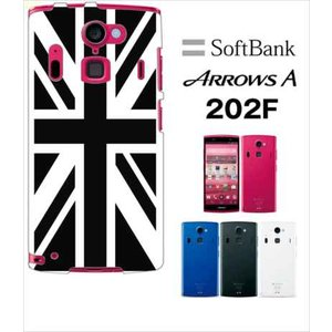 202F Arrows A アローズ softbank ハードケース ジャケット 国旗A-02|ss-link