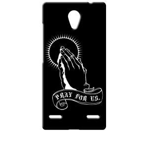 BLADE E02/Libero 2 ZTE ブラック ハードケース プレイングハンド 合掌|ss-link