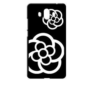 Mate 10 HUAWEI ブラック ハードケース カメリア 花柄 ss-link