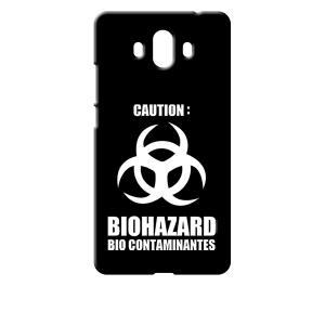 Mate 10 HUAWEI ブラック ハードケース バイオハザード BIOHAZARD ロゴ ss-link