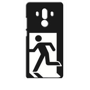 Mate 10 Pro HUAWEI ブラック ハードケース 非常口|ss-link