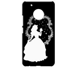 Moto G5 Plus モトローラ ブラック ハードケース 白雪姫 リンゴ キラキラ プリンセス|ss-link