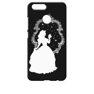nova 2 HWV31 au HUAWEI ブラック ハードケース 白雪姫 リンゴ キラキラ プリンセス|ss-link