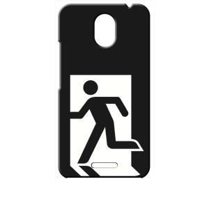 Priori5 FTJ17C00 FREETEL ブラック ハードケース 非常口|ss-link