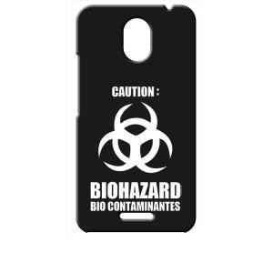 Priori5 FTJ17C00 FREETEL ブラック ハードケース バイオハザード BIOHAZARD ロゴ|ss-link