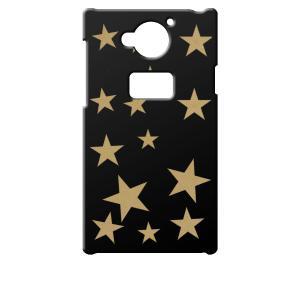 SH-03G AQUOS ZETA docomo ブラック ハードケース 星 スター ベージュ カバー ジャケット スマートフォン スマホケース au|ss-link