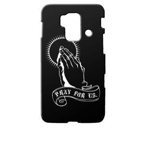 SH-05E スマートフォン for ジュニア/SH-03F スマートフォン for ジュニア2 docomo ブラック ハードケース プレイングハンド 合掌|ss-link