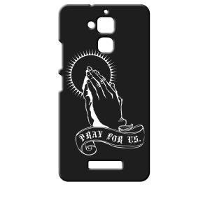 ZenFone3 Max 5.2インチ ZC520TL ASUS エイスース ブラック ハードケース プレイングハンド 合掌 ss-link