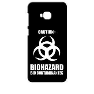 ZenFone4 Selfie Pro ZD552KL ASUS ブラック ハードケース バイオハザード BIOHAZARD ロゴ|ss-link