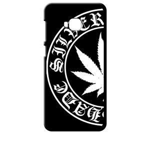 ZenFone4 Selfie Pro ZD552KL ASUS ブラック ハードケース マリファナ ロゴ|ss-link