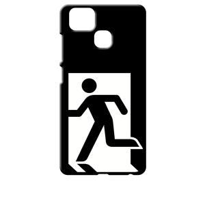ZenFone Zoom S ZE553KL (ZenFone 3 Zoom) ブラック ハードケース 非常口|ss-link