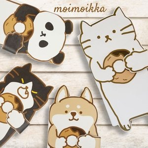 iPhone 8 Plus/iPhone 7 Plus Apple docomo au softbank 手帳型 猫 ネコ 柴犬 パンダ おしゃれ スマホ ケース カード スタンド moimoikka (もいもいっか)|ss-link