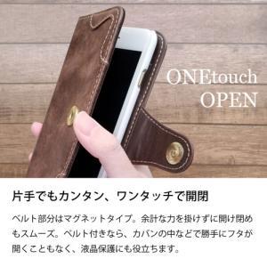 iPhone11 Pro Max 手帳型 スマホ ケース アンティーク調 ヴィンテージ ビンテージ PUレザー カード収納 ss-link 04
