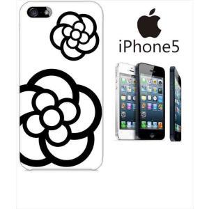 iphone5/5s iPhone 5s アイフォン スマホ ハードケース ジャケット カメリア-A 花柄 カメリア ss-link