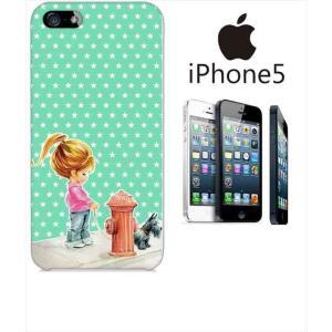 iphone5/5s iPhone 5s アイフォン スマホ ハードケース カバー ジャケット ca1335-4 星 ポップスター ガール ss-link