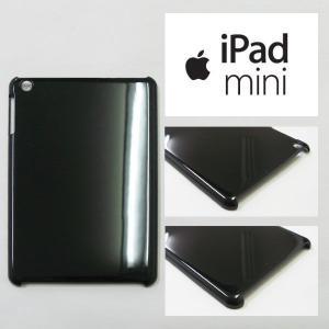 iPadmini アイパッドミニ ケース カバー 黒 ブラック apple iPad mini タブレット Android 無地ケース デコベース カバー ジャケット スマホケース softbank au|ss-link