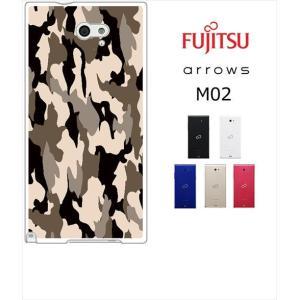 arrows M02 / RM02 アローズ ホワイトハードケース ジャケット カモフラ-カーキ カモフラ柄 迷彩|ss-link