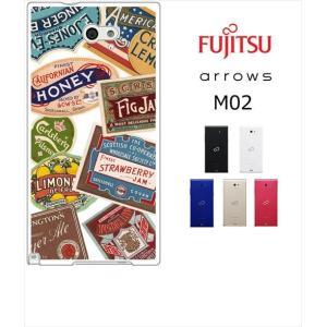 arrows M02 / RM02 アローズ ホワイトハードケース ジャケット ラベル-A レトロ ラベル|ss-link