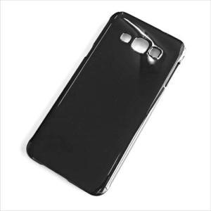 SCV32 Galaxy A8 ギャラクシー ハードケース ブラック 黒 無地ケース デコベース スマホ ケース スマートフォン カバー カスタム ジャケット au|ss-link