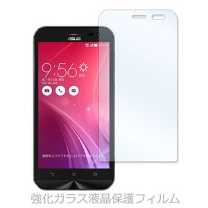 ZenFone Zoom(ZX551ML) ゼンフォン 強化ガラス 液晶 保護 フィルム 2.5D 硬度9H ラウンドエッジ加工 ss-link