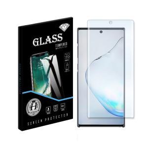 Galaxy Note10+ ギャラクシーノート10プラス SC-01M SCV45 ガラスフィルム 保護フィルム 液晶保護 シート 硬度9H ラウンドエッジ加工 キズ防止 ss-link