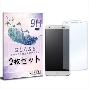LGL22 isai イサイ 2枚セット ガラスフィルム 保護フィルム 液晶保護 強化ガラス シート ガラス|ss-link