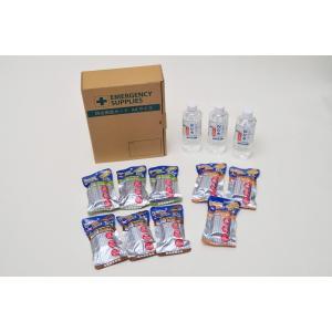 格安3日分9食7年備蓄セット(保存水×3本+ハイカロリークッキー×9個)KK-01|ss-miyabi-store